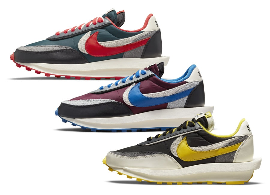 Official Images of the Undercover x Sacai x Nike LDWaffle Collab