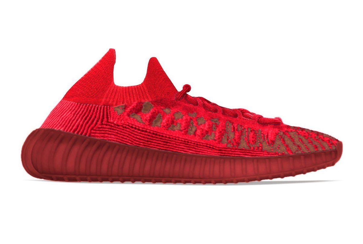 """adidas Yeezy 350 V2 CMPCT """"Slate Red"""" Dropping February 2022"""