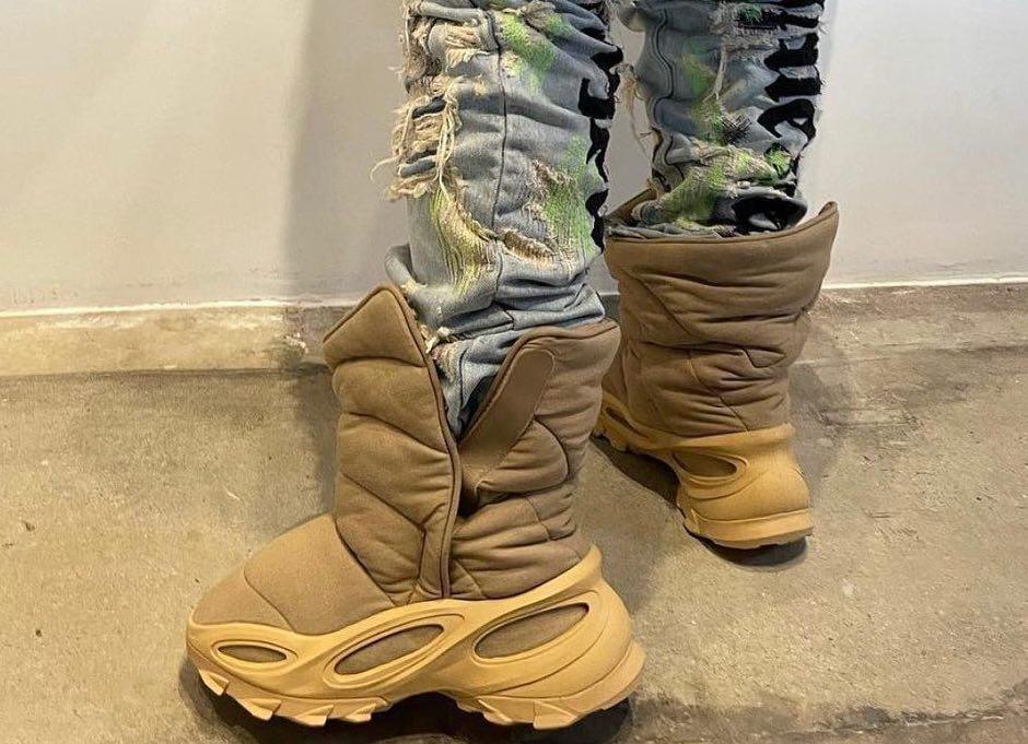 "Ye' Set to Debut the adidas Yeezy NSTLD Boot ""Khaki"" in November"