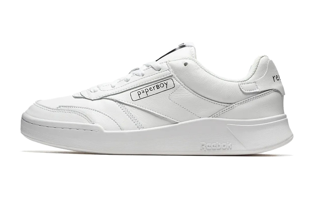 BEAMS and Paperboy team Up for a Crisp White Take on the Reebok Club C Legacy