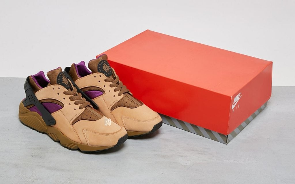 """Nike's 1992 """"Praline"""" Colorway of the Air Huarache Receives the Retro Treatment"""